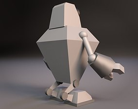 Cartoon Robot 04 of 05 3D model