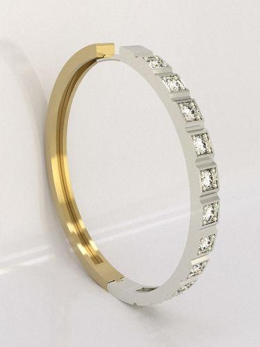 earrings ring  3d model stl 3dm 1