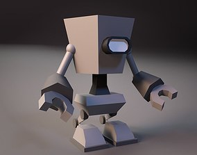 Cartoon Robot 05 of 05 3D