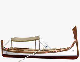 Dghajsa - Malta Gondola 3D model