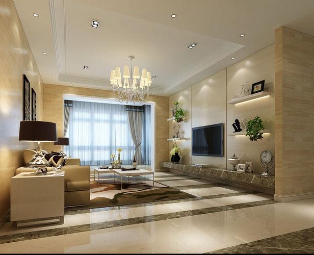 modern house interior 3d model max 1