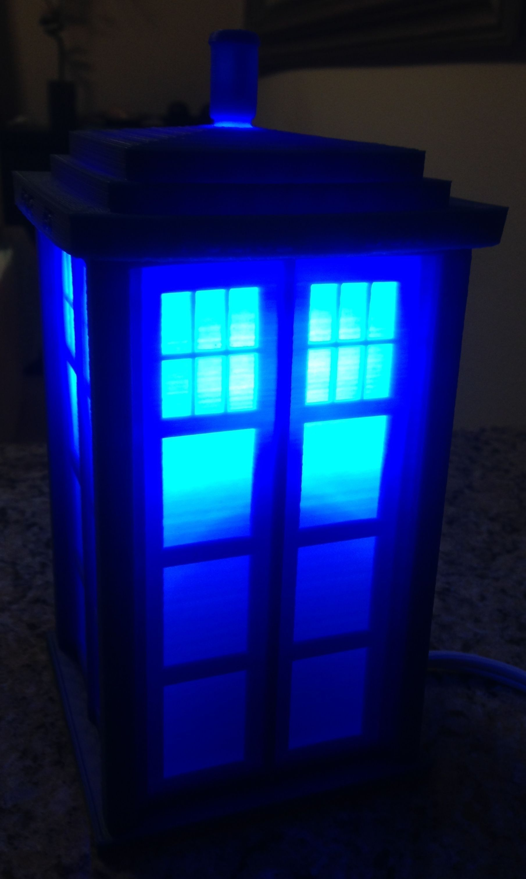 Tardis Lamp Or Circa 1960s London Police C 3d Model 3d