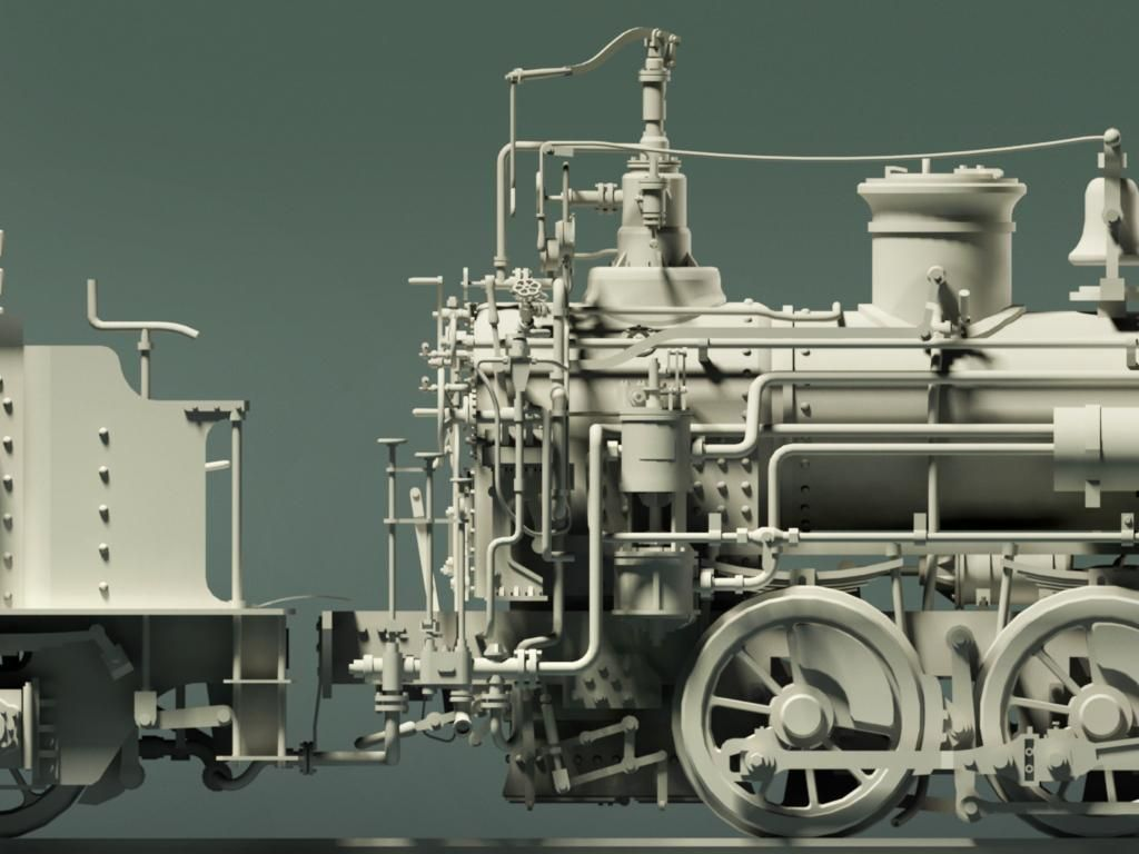 how to make a model steam engine train
