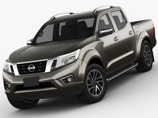Nissan Navara - NP300 - Frontier 3D Model .max .obj .3ds ...