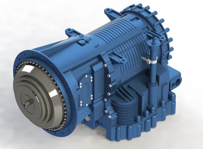Gearbox Allison 32003D model