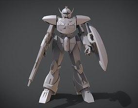 Turn A Gundam 3D printable model