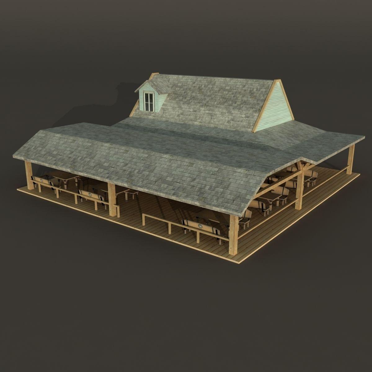 Bar House Wooden