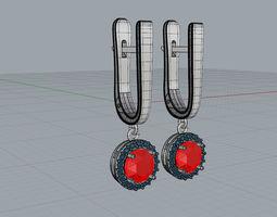 3D printable model Earrings Laura