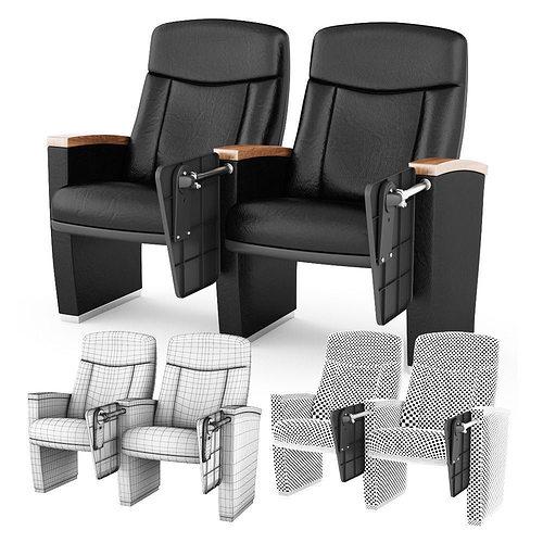 Armchair Cinema 3d Model Cgtrader
