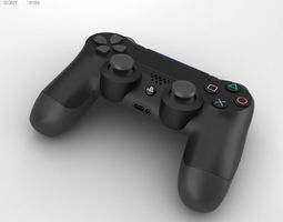 3D Sony DualShock 4 Wireless Controller