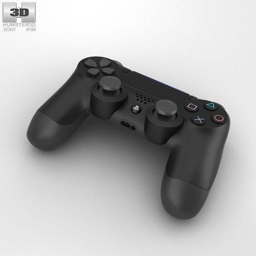 sony dualshock 4 wireless controller 3d model max obj mtl 3ds fbx c4d lwo lw lws 1