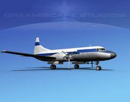 3D Convair CV-340 Private 1