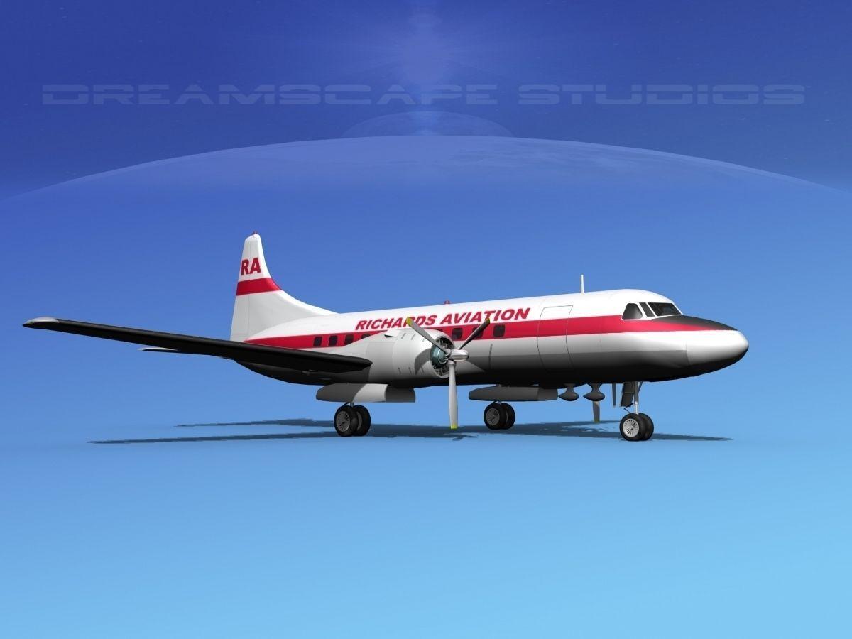 Convair CV-340 Richards Aviation