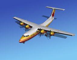 DHC-7 Dehavilland Canada 3D