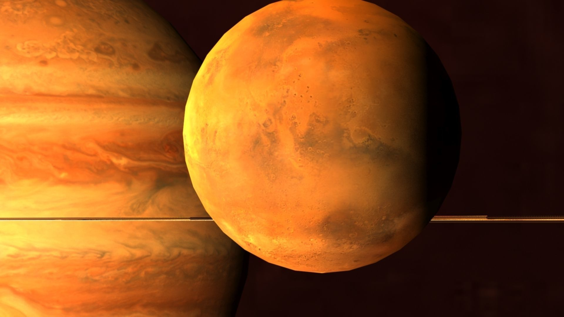 Solar System Scifi LowPoly