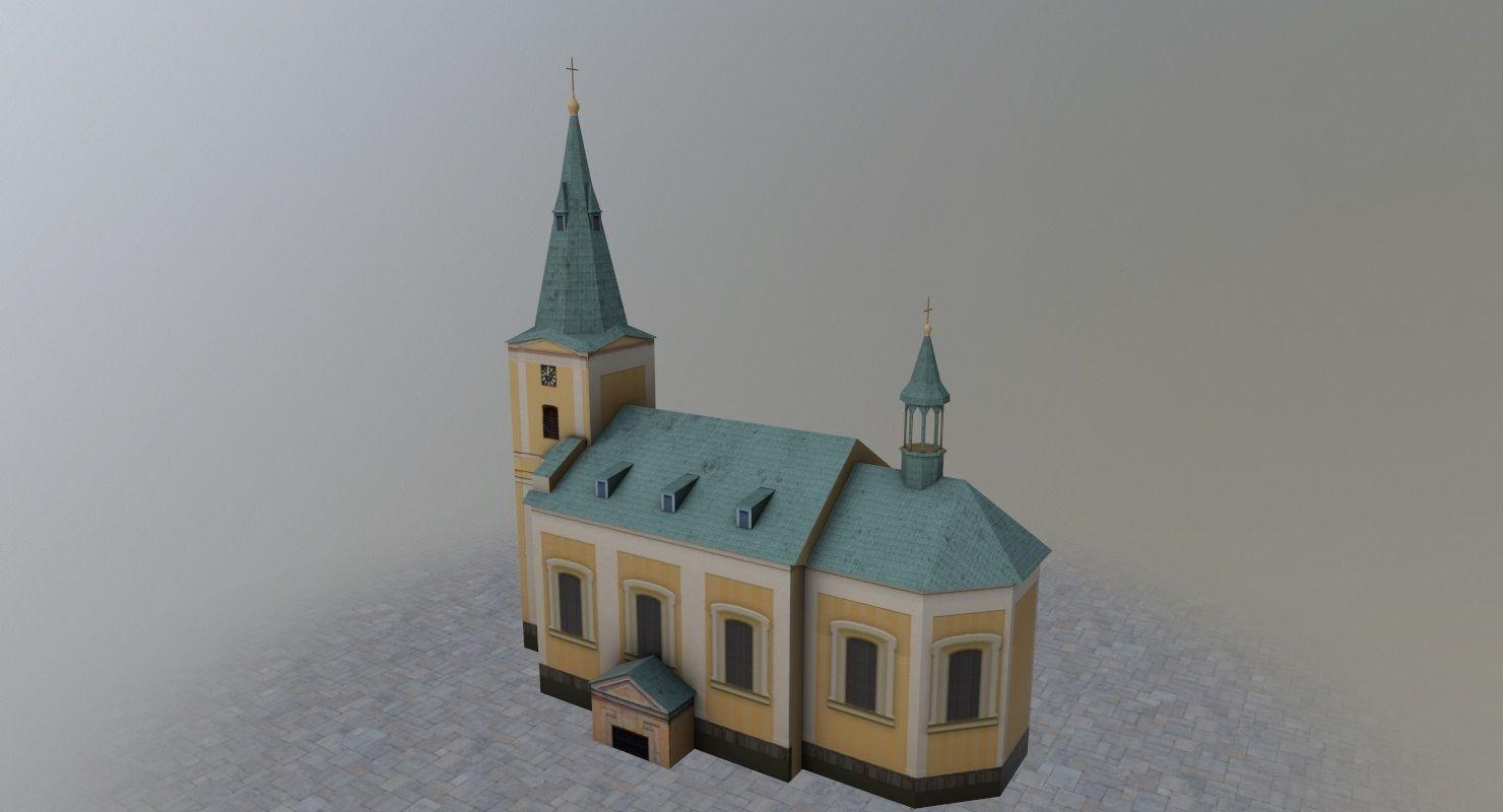 Karlovy Vary Kostel Andelske