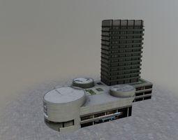 Karlovy Vary Hotel Thermal 3D asset