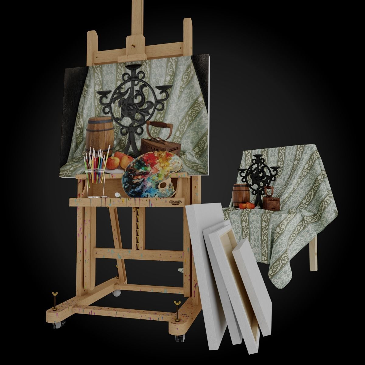 Mabef Studio Easel M18