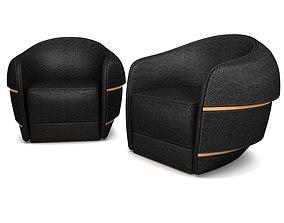 3D asset Step Arm Chair