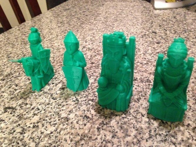 Medieval Theme Chess Set
