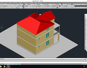 Private house project 3D