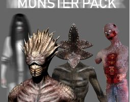 Monster Collection 3D monsters