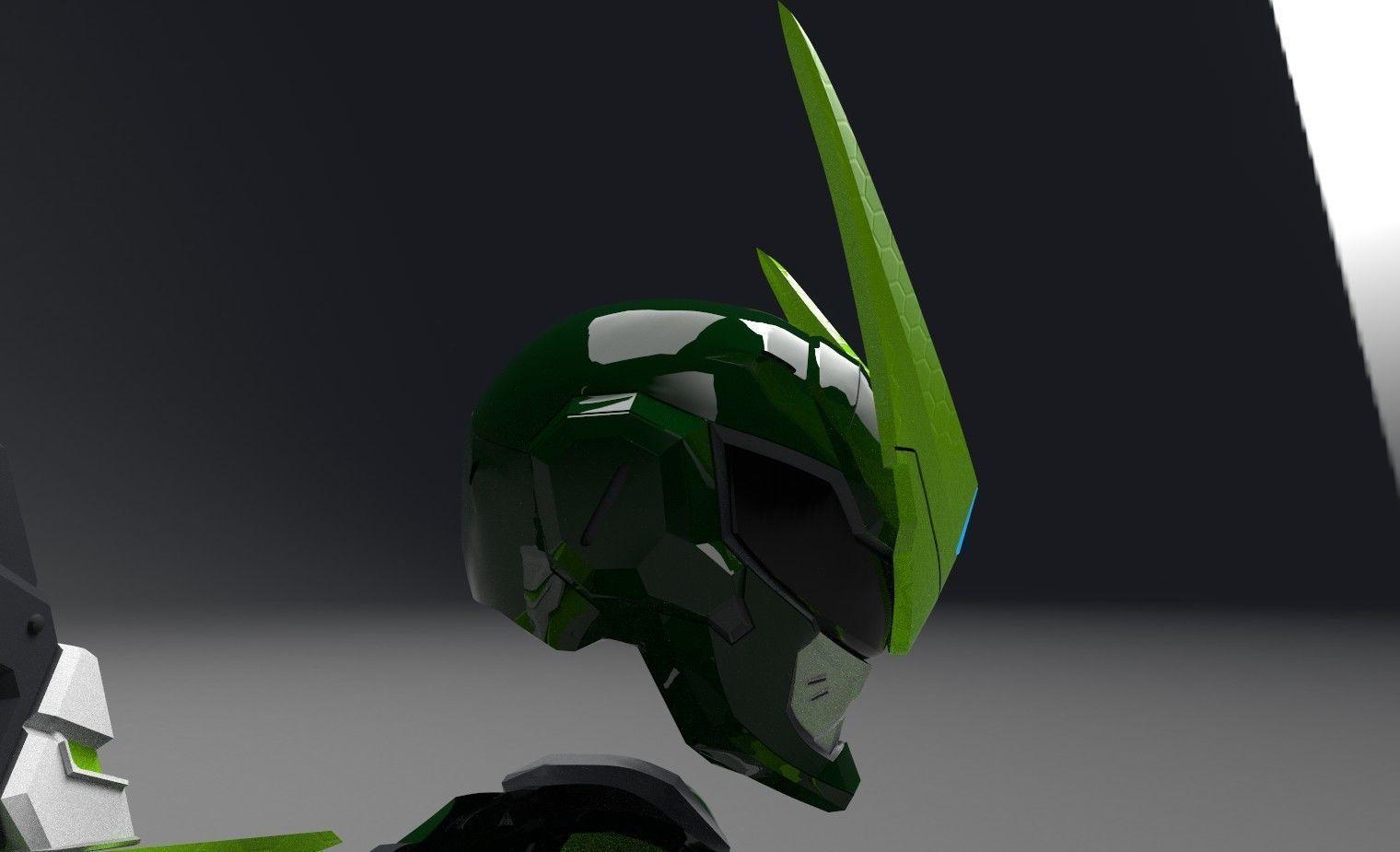 sentai genji helmet overwatch