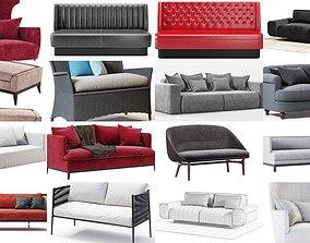 3D Set of sofas