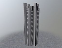 3D asset Moscow Priboy