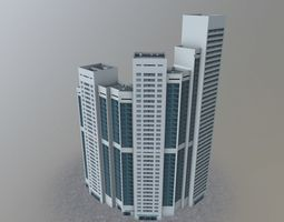 3D model Moscow House Building50