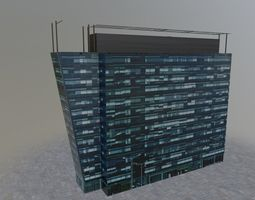 3D asset Moscow Building 1