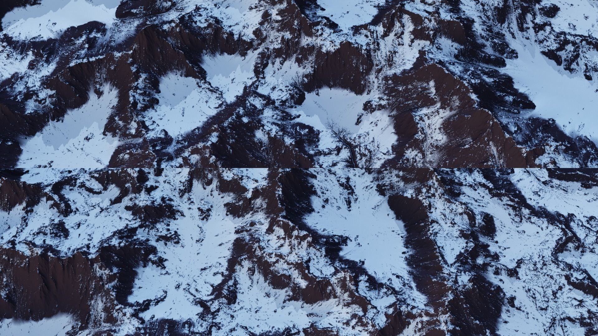 Snow Mountain 8K Heightmap Pack 1   Texture