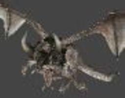 dragon2 3D asset