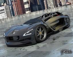3D model Peugeot EX-1 2 0