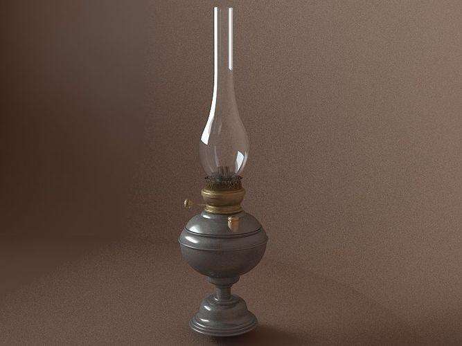 kerosene lamp3D model