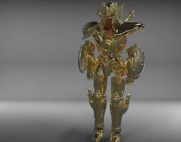 libra myth cloth from Saint Seiya knights 3D print model 1