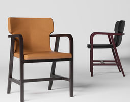 3D Maxalto Fulgens Chair