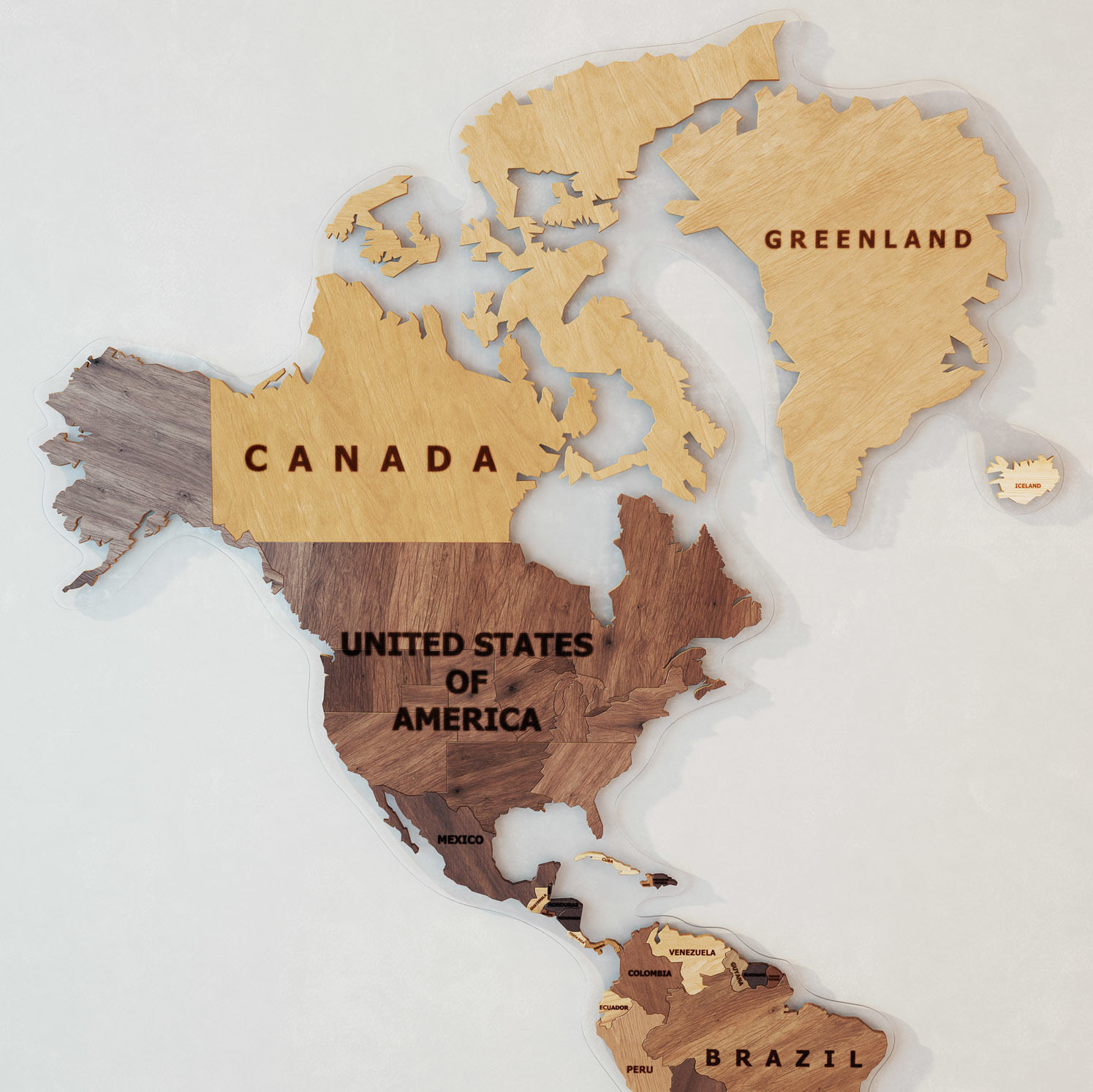 World map made of wood 3d model max fbx world map made of wood 3d model max fbx 2 gumiabroncs Image collections