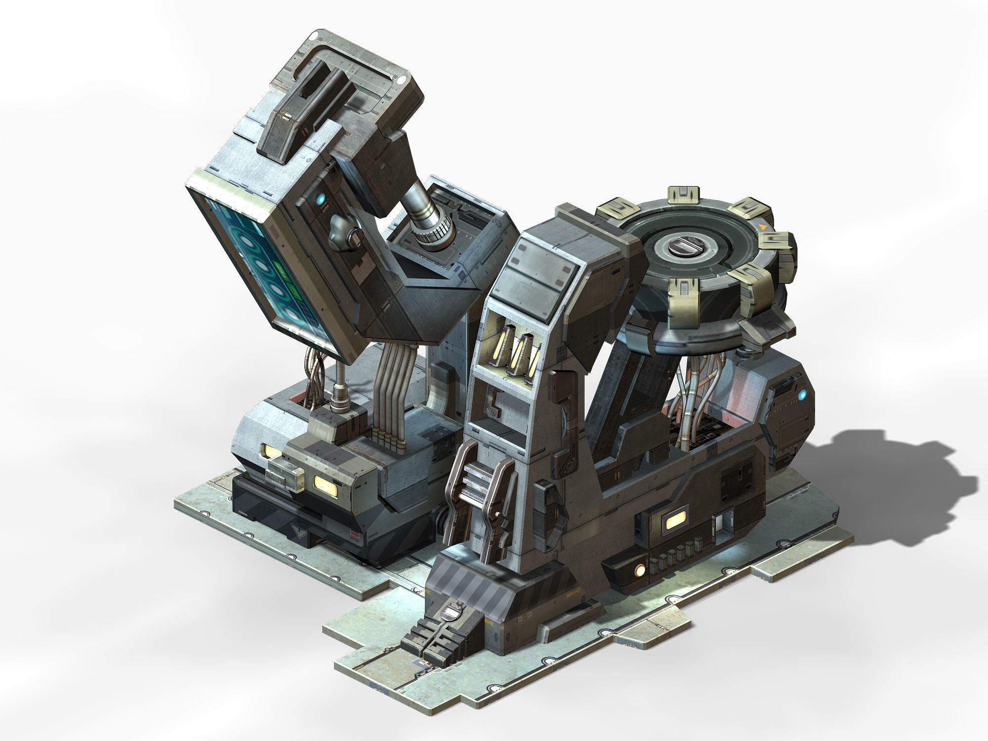 Machinery - Spacecraft - Functional Objects 019