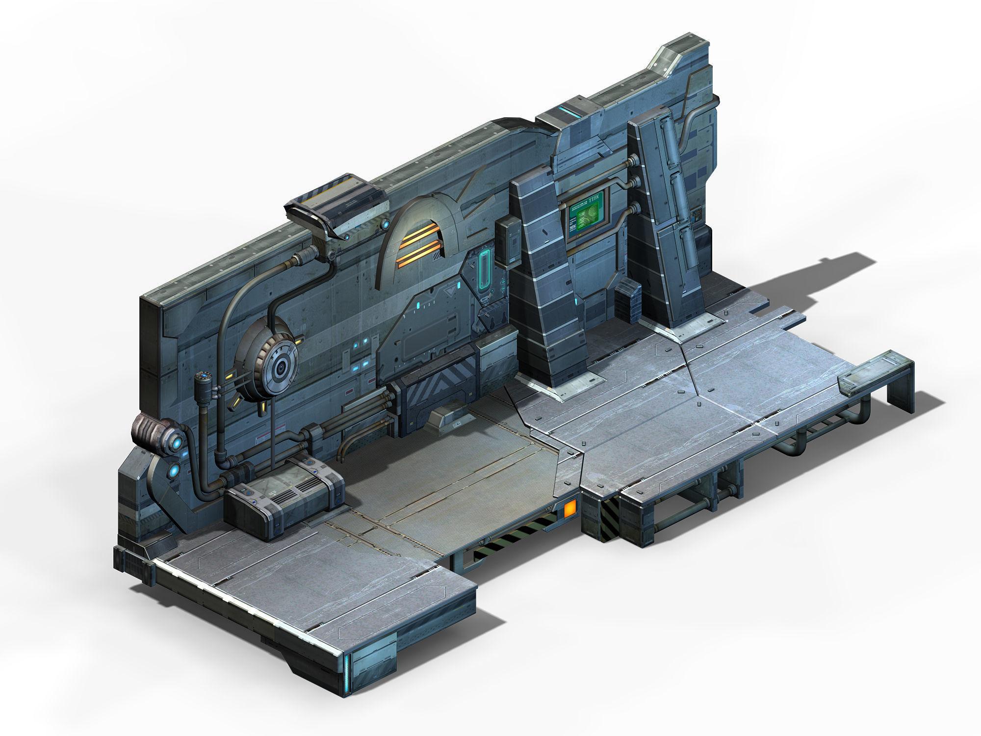 Machinery - Wall 02