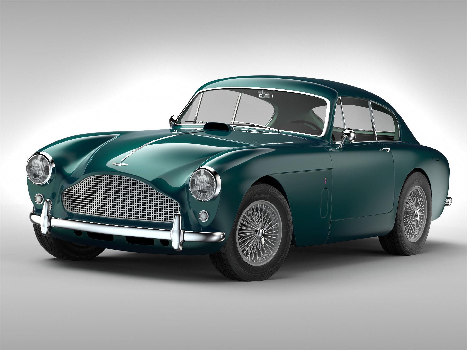 Aston Martin DB MKIII D Model CGTrader - Aston martin db