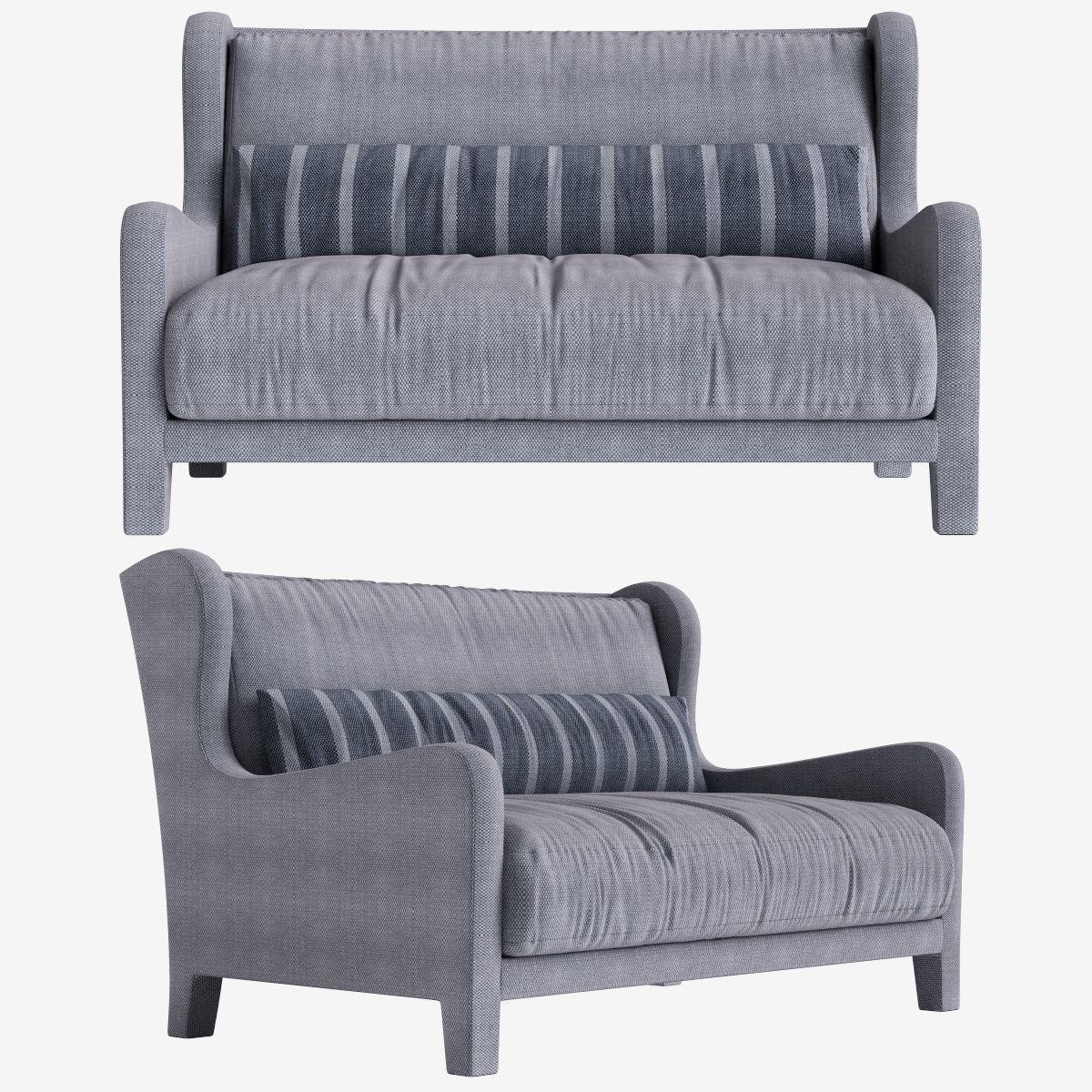 Sofa Foster Soft  Meridiani l140 x d97 x h90 art 48915