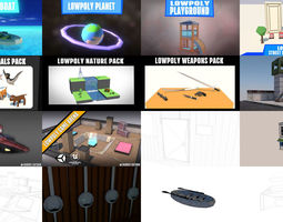 ULTIMATE LOWPOLY GAME ASSETS PACK 3D
