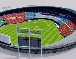 3D model Jamsil Baseball Stadium - South Korea