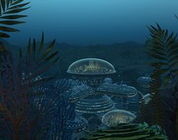 Seabed City 3D