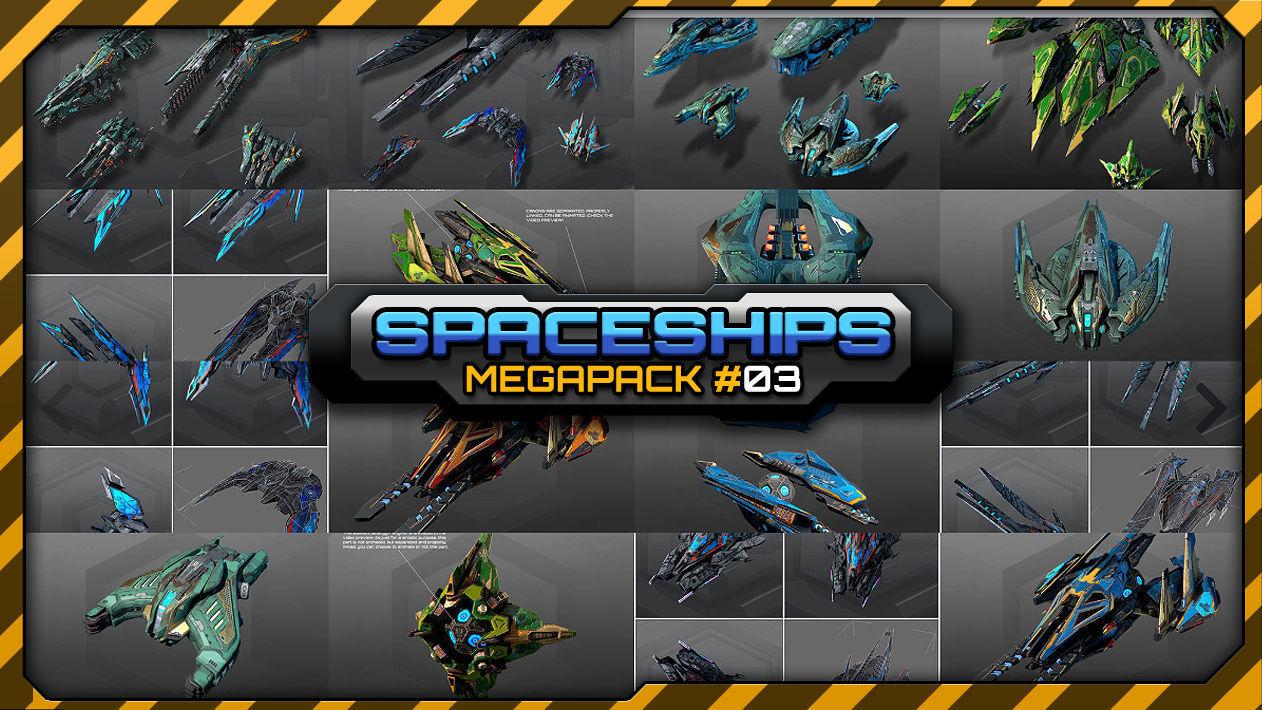 Spaceships Megapack 03