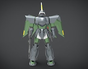 3D asset ZGMF-1017 GINN