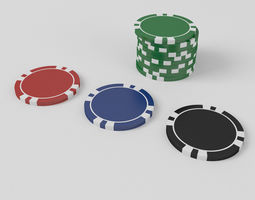 Free casino 3d models