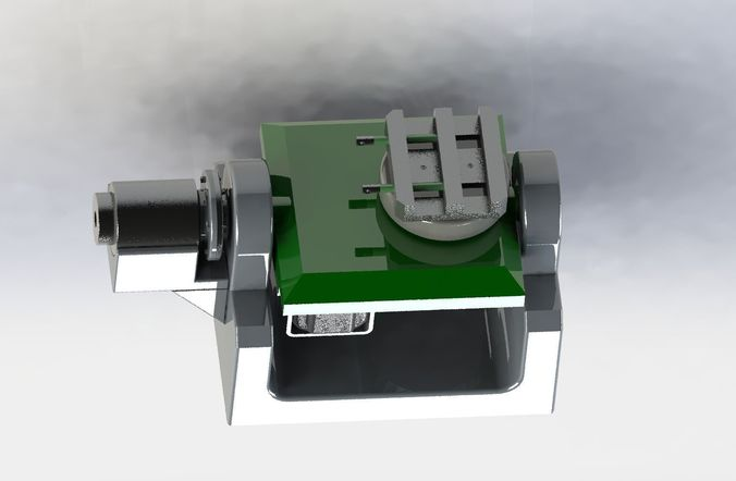 biaxial angular rotation mechanism 3d model max obj mtl 3ds fbx stl sldprt sldasm slddrw 1