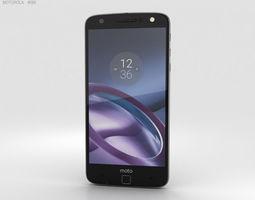 3D model smartphone Motorola Moto Z with Style Shell